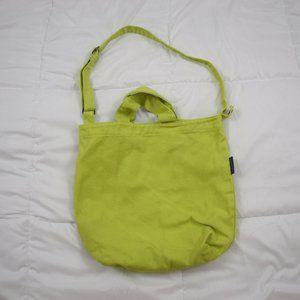 BAGGU Lime Green Tote Bag